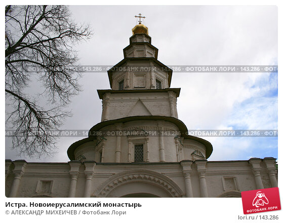 Истра. Новоиерусалимский монастырь, фото № 143286, снято 8 апреля 2007 г. (c) АЛЕКСАНДР МИХЕИЧЕВ / Фотобанк Лори