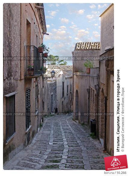 Италия. Сицилия. Улица в городе Эриче, фото № 10266, снято 9 октября 2004 г. (c) Валерий Ситников / Фотобанк Лори
