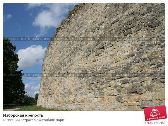 Изборская крепость, фото № 89482, снято 18 августа 2007 г. (c) Евгений Батраков / Фотобанк Лори