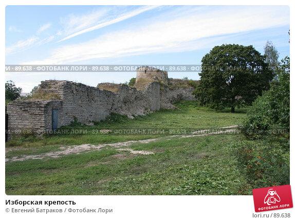 Изборская крепость, фото № 89638, снято 18 августа 2007 г. (c) Евгений Батраков / Фотобанк Лори