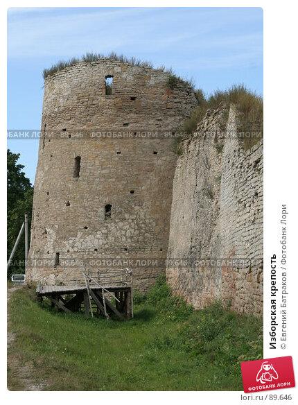 Купить «Изборская крепость», фото № 89646, снято 18 августа 2007 г. (c) Евгений Батраков / Фотобанк Лори