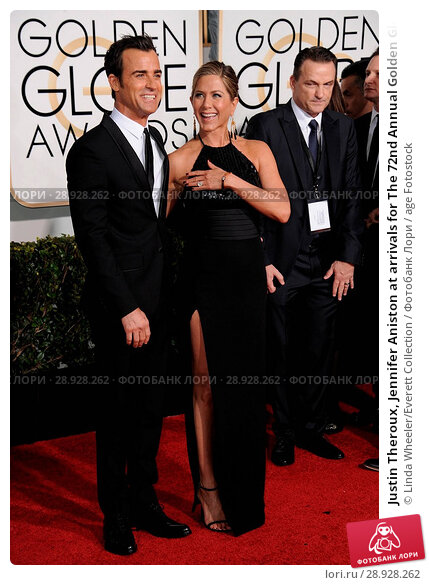 Купить «Justin Theroux, Jennifer Aniston at arrivals for The 72nd Annual Golden Globe Awards 2015 _ Part 2, The Beverly Hilton Hotel, Beverly Hills, CA January...», фото № 28928262, снято 22 августа 2018 г. (c) age Fotostock / Фотобанк Лори