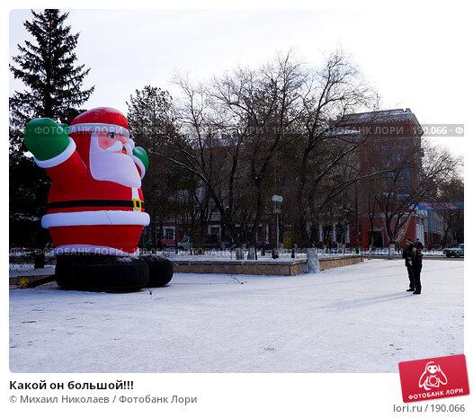 Какой он большой!!!, фото № 190066, снято 4 января 2008 г. (c) Михаил Николаев / Фотобанк Лори