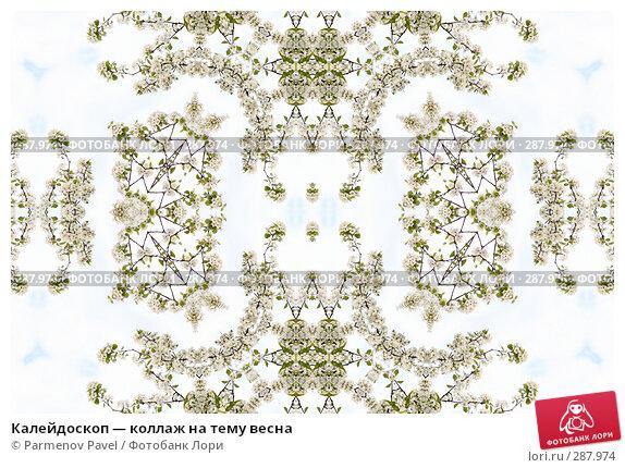 Купить «Калейдоскоп — коллаж на тему весна», фото № 287974, снято 10 мая 2008 г. (c) Parmenov Pavel / Фотобанк Лори