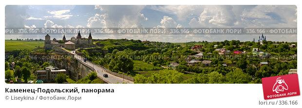 Каменец-Подольский, панорама, фото № 336166, снято 26 июня 2017 г. (c) Liseykina / Фотобанк Лори