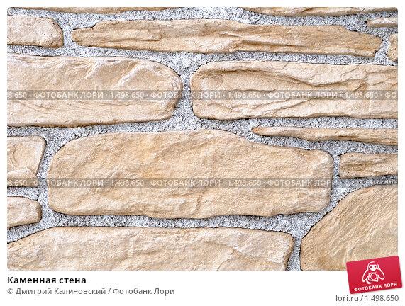 Купить «Каменная стена», фото № 1498650, снято 16 февраля 2010 г. (c) Дмитрий Калиновский / Фотобанк Лори