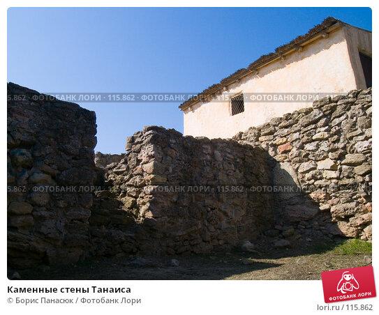 Каменные стены Танаиса, фото № 115862, снято 22 февраля 2007 г. (c) Борис Панасюк / Фотобанк Лори