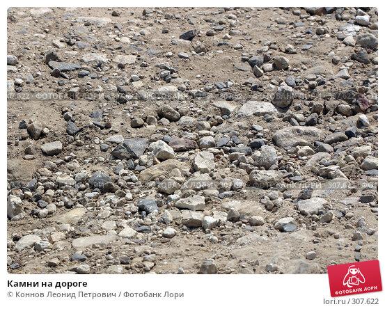 Камни на дороге, фото № 307622, снято 2 июня 2008 г. (c) Коннов Леонид Петрович / Фотобанк Лори