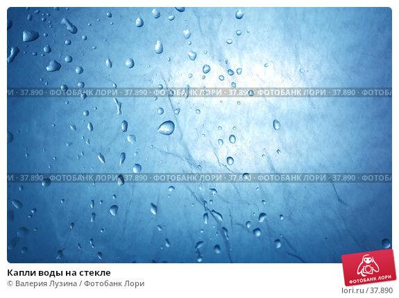 Капли воды на стекле, фото № 37890, снято 2 мая 2007 г. (c) Валерия Потапова / Фотобанк Лори