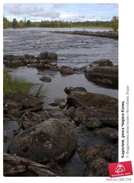 Карелия, река Чирко-Кемь, фото № 241774, снято 5 сентября 2007 г. (c) Андрюхина Анастасия / Фотобанк Лори