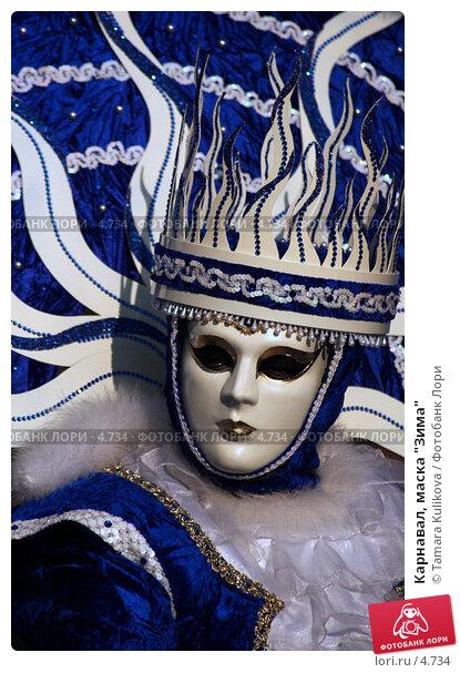 """Карнавал, маска """"Зима"""", фото № 4734, снято 27 февраля 2006 г. (c) Tamara Kulikova / Фотобанк Лори"""