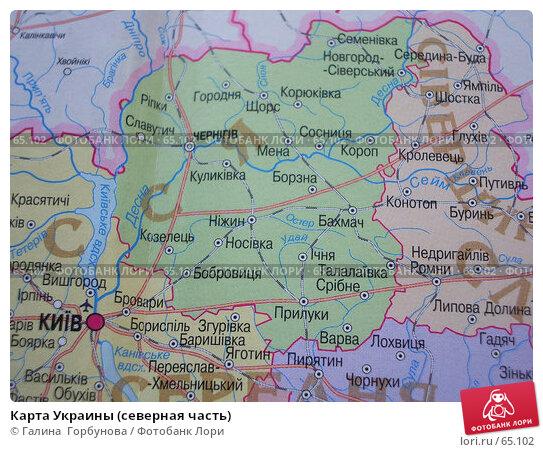 Карта Украины (северная часть), фото № 65102, снято 22 июля 2006 г. (c) Галина  Горбунова / Фотобанк Лори