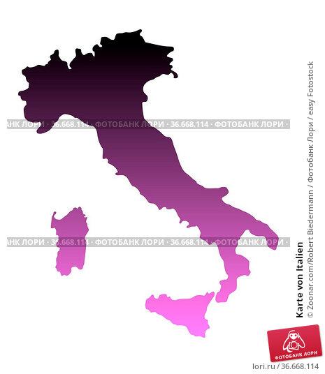 Karte von Italien. Стоковое фото, фотограф Zoonar.com/Robert Biedermann / easy Fotostock / Фотобанк Лори