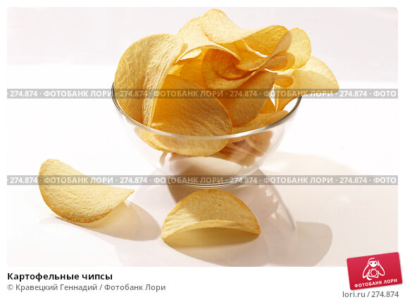 Картофельные чипсы, фото № 274874, снято 27 сентября 2005 г. (c) Кравецкий Геннадий / Фотобанк Лори