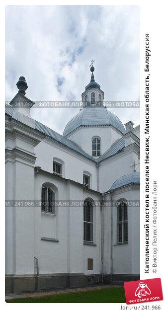 Католический костел в поселке Несвиж, Минская область, Белоруссия, фото № 241966, снято 14 июля 2007 г. (c) Виктор Пелих / Фотобанк Лори
