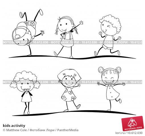 kids activity. Стоковая иллюстрация, иллюстратор Matthew Cole / PantherMedia / Фотобанк Лори