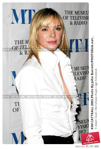 KIM CATTRALL 2003.Photo By John Barrett/PHOTOlink.net.. Редакционное фото, фотограф Adam Scull / age Fotostock / Фотобанк Лори