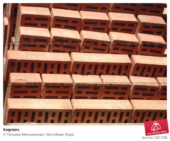 Купить «Кирпич», фото № 321730, снято 13 июня 2008 г. (c) Татьяна Мельникова / Фотобанк Лори