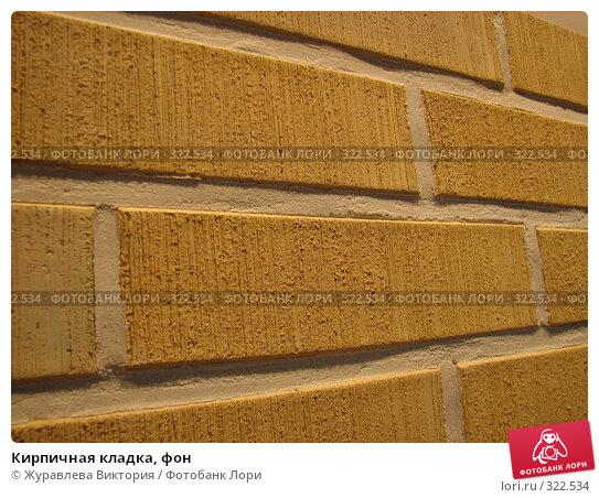 Кирпичная кладка, фон, фото № 322534, снято 13 октября 2007 г. (c) Журавлева Виктория / Фотобанк Лори
