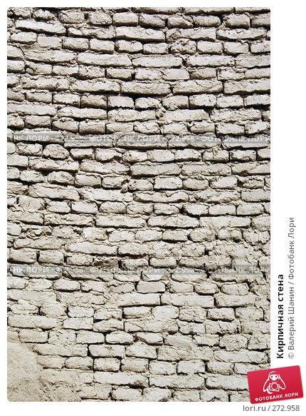 Кирпичная стена, фото № 272958, снято 28 ноября 2007 г. (c) Валерий Шанин / Фотобанк Лори