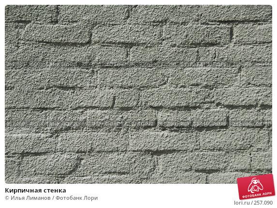 Кирпичная стенка, фото № 257090, снято 18 апреля 2008 г. (c) Илья Лиманов / Фотобанк Лори