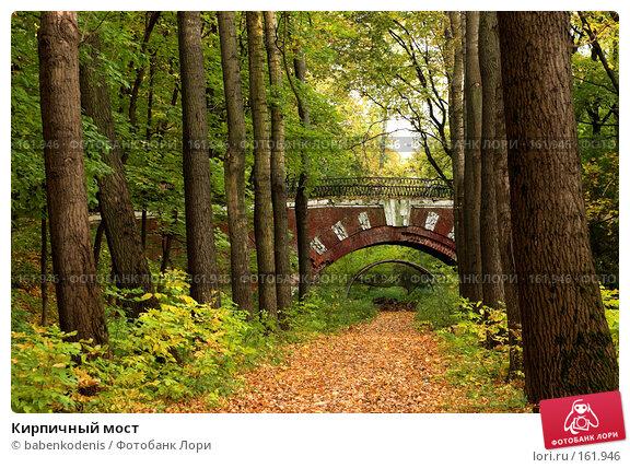 Кирпичный мост, фото № 161946, снято 9 октября 2005 г. (c) Бабенко Денис Юрьевич / Фотобанк Лори