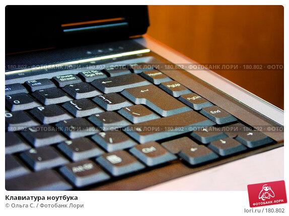 Купить «Клавиатура ноутбука», фото № 180802, снято 17 декабря 2017 г. (c) Ольга С. / Фотобанк Лори