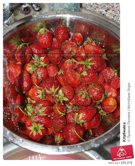 Клубника, фото № 295078, снято 18 июня 2007 г. (c) Примак Полина / Фотобанк Лори