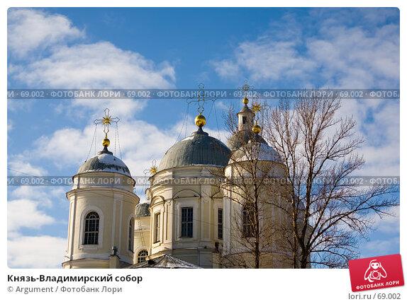 Купить «Князь-Владимирский собор», фото № 69002, снято 6 марта 2007 г. (c) Argument / Фотобанк Лори