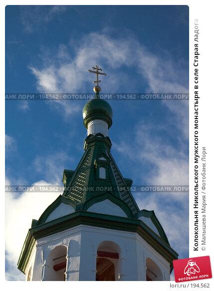 Колокольня Никольского мужского монастыря в селе Старая ладога, фото № 194562, снято 5 ноября 2007 г. (c) Малышева Мария / Фотобанк Лори