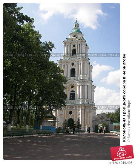 Колокольня Троицкого собора в Чернигове, фото № 219498, снято 31 мая 2007 г. (c) Sanna / Фотобанк Лори