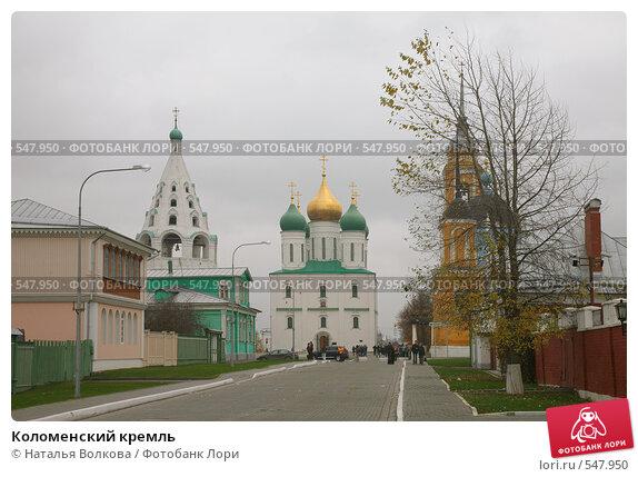 Купить «Коломенский кремль», фото № 547950, снято 25 января 2000 г. (c) Наталья Волкова / Фотобанк Лори