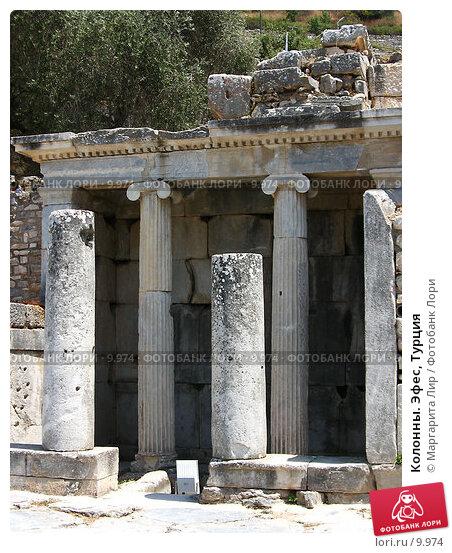 Колонны. Эфес, Турция, фото № 9974, снято 25 января 2017 г. (c) Маргарита Лир / Фотобанк Лори