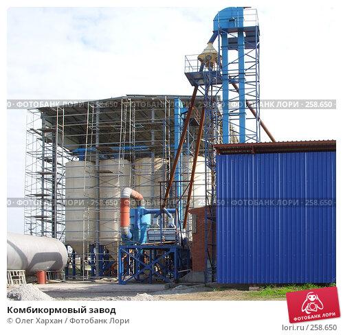 Комбикормовый завод, фото № 258650, снято 11 апреля 2008 г. (c) Олег Хархан / Фотобанк Лори