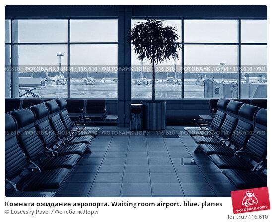 Купить «Комната ожидания аэропорта. Waiting room airport. blue. planes», фото № 116610, снято 1 января 2006 г. (c) Losevsky Pavel / Фотобанк Лори
