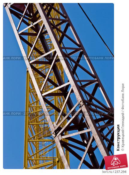 Купить «Конструкция», фото № 237294, снято 19 марта 2018 г. (c) Кравецкий Геннадий / Фотобанк Лори