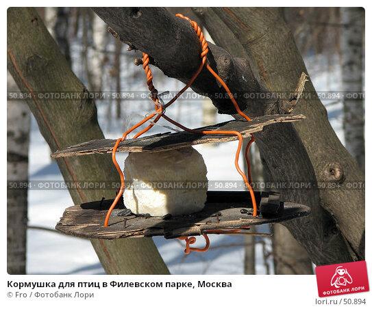 Кормушка для птиц в Филевском парке, Москва, фото № 50894, снято 25 марта 2006 г. (c) Fro / Фотобанк Лори