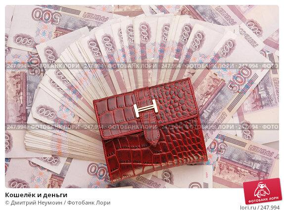 Кошелёк и деньги, эксклюзивное фото № 247994, снято 8 апреля 2008 г. (c) Дмитрий Нейман / Фотобанк Лори