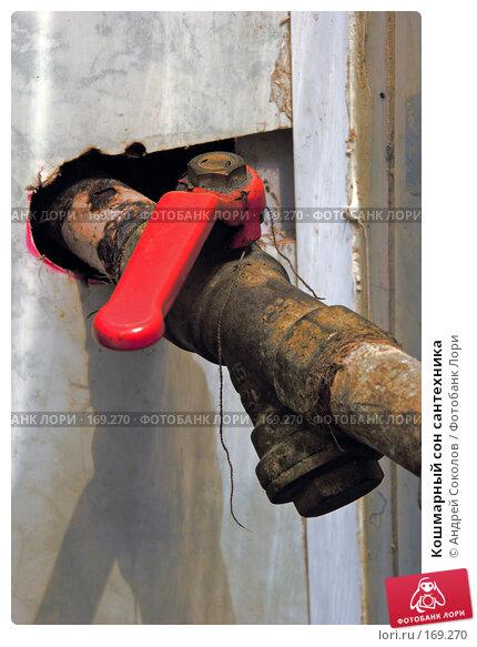Кошмарный сон сантехника, фото № 169270, снято 8 января 2008 г. (c) Андрей Соколов / Фотобанк Лори