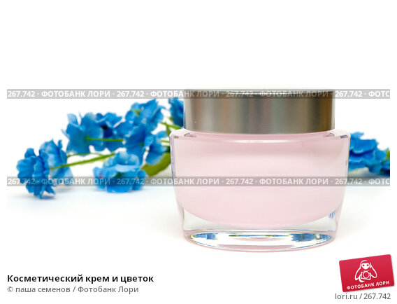 Купить «Косметический крем и цветок», фото № 267742, снято 6 апреля 2008 г. (c) паша семенов / Фотобанк Лори