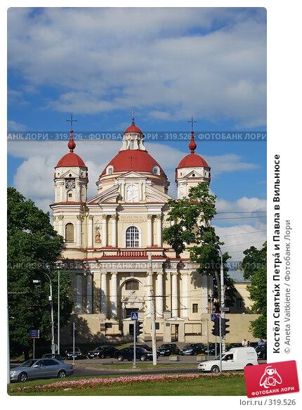 Костёл Святы́х Петра́ и Павла в Вильнюсе, фото № 319526, снято 11 июня 2008 г. (c) Aneta Vaitkiene / Фотобанк Лори