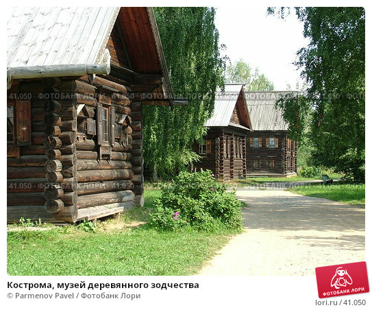 Кострома, музей деревянного зодчества, фото № 41050, снято 15 августа 2006 г. (c) Parmenov Pavel / Фотобанк Лори