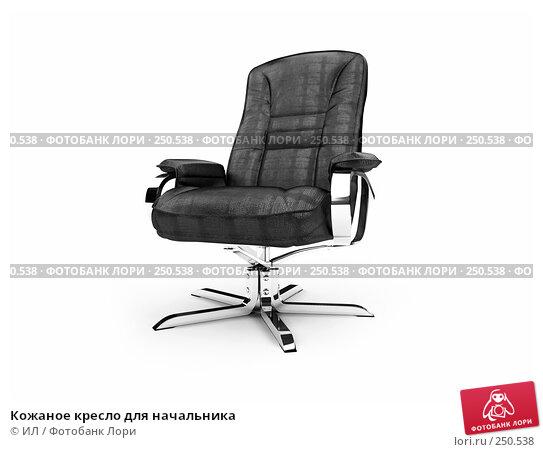 Кожаное кресло для начальника, иллюстрация № 250538 (c) ИЛ / Фотобанк Лори