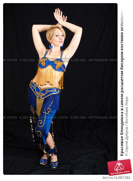 В синем лифчике блондинка #15