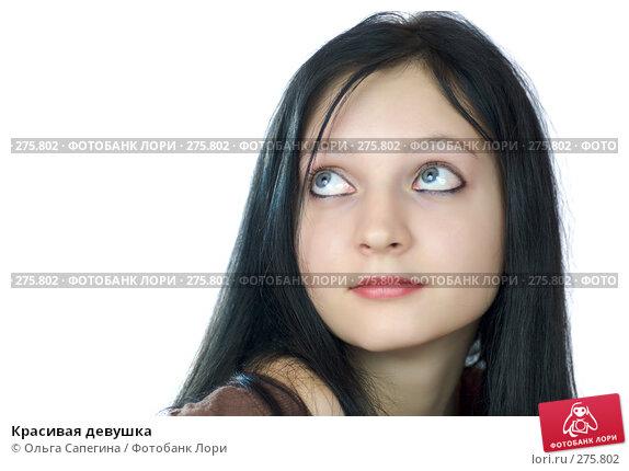 Красивая девушка, фото № 275802, снято 10 декабря 2007 г. (c) Ольга Сапегина / Фотобанк Лори