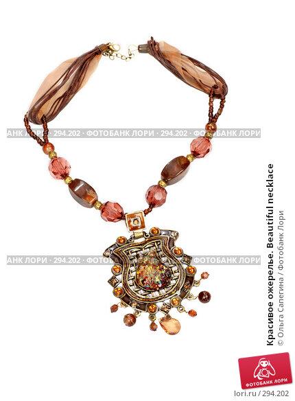 Красивое ожерелье. Beautiful necklace, фото № 294202, снято 20 апреля 2008 г. (c) Ольга Сапегина / Фотобанк Лори