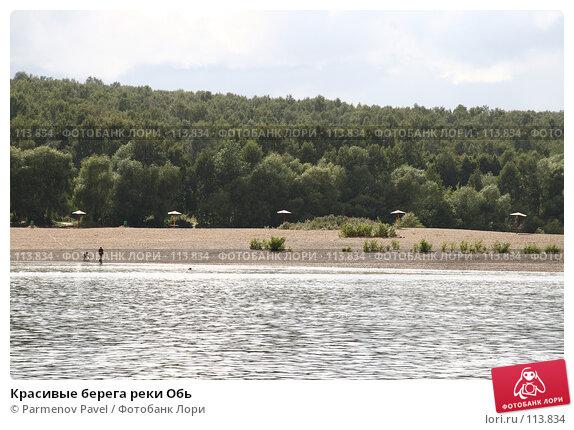 Красивые берега реки Обь, фото № 113834, снято 15 августа 2007 г. (c) Parmenov Pavel / Фотобанк Лори