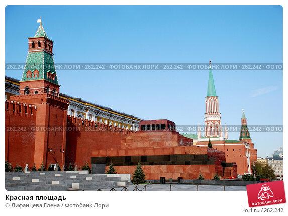 Красная площадь, фото № 262242, снято 21 апреля 2008 г. (c) Лифанцева Елена / Фотобанк Лори