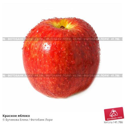 Красное яблоко, фото № 41786, снято 5 апреля 2007 г. (c) Бутинова Елена / Фотобанк Лори