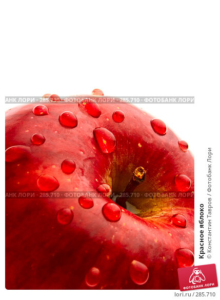 Купить «Красное яблоко», фото № 285710, снято 5 апреля 2008 г. (c) Константин Тавров / Фотобанк Лори